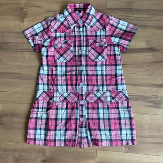 オリンカリ(OLLINKARI)のOLLINKARI チェックシャツ 110(Tシャツ/カットソー)