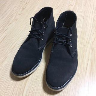 レッドウィング(REDWING)のRED WING ブラック スウェード 3147(ブーツ)