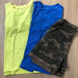 グローバルワーク(GLOBAL WORK)の120 男の子夏服セット(Tシャツ/カットソー)