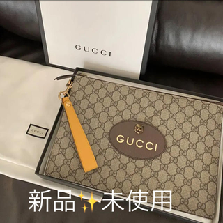 グッチ(Gucci)の新品♡GUCCI グッチ ネオGGスプリームポーチクラッチバッグ(クラッチバッグ)