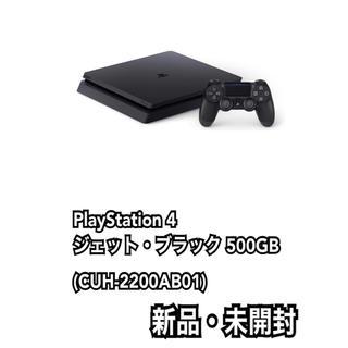 PlayStation4 - PlayStation 4 ブラック 500GB CUH-2200AB01