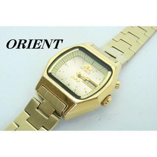 オリエント(ORIENT)の【W-487】【動作品/電池交換済】ORIENT オリエント 自動巻き 腕時計 (腕時計)