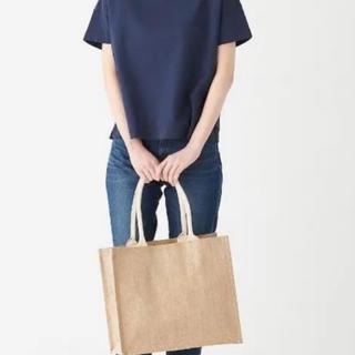 ムジルシリョウヒン(MUJI (無印良品))の新品未使用品✴︎ジュートマイバッグ A4サイズ(トートバッグ)