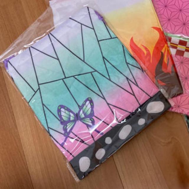 さとrinさん専用 鬼滅の刃 巾着袋 エンタメ/ホビーのおもちゃ/ぬいぐるみ(キャラクターグッズ)の商品写真