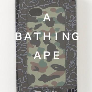 アベイシングエイプ(A BATHING APE)の定価以下 A BATHING APE IPHONE 5 5s SE ケース(iPhoneケース)