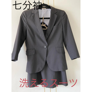 AOKI - レディース スーツ 七分袖 洗えるスーツ アオキ  MとS 黒