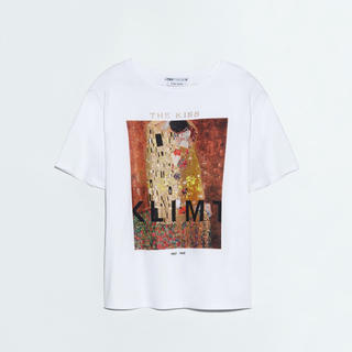 ザラ(ZARA)の即完売 zara The Kiss  クリムト Klimt  Tシャツ(Tシャツ(半袖/袖なし))