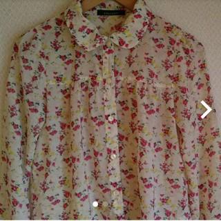 ページボーイ(PAGEBOY)のページボーイPAGEBOY 花柄 シャツ 羽織り(シャツ/ブラウス(長袖/七分))