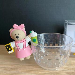 スターバックスコーヒー(Starbucks Coffee)の激レア!シンガポール限定 スタバ ベアリスタ コップのフチ子風(キャラクターグッズ)