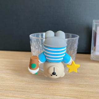スターバックスコーヒー(Starbucks Coffee)の激レア!完売品 スタバ シンガポール限定 ベアリスタ コップのフチ子風(キャラクターグッズ)