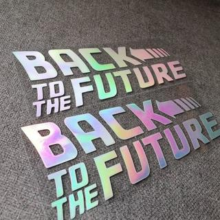 バックトゥザフューチャー Back To The Future ステッカー 2個