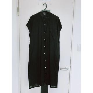 スタディオクリップ(STUDIO CLIP)のシャツワンピース Black(その他)