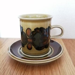アラビア(ARABIA)のアラビア オトソ コーヒーカップ&ソーサー(食器)
