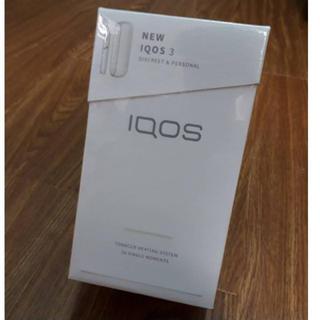 IQOS - 新品 IQOS 3 アイコス3 未使用 未開封 未登録 本体キット白ホワイト