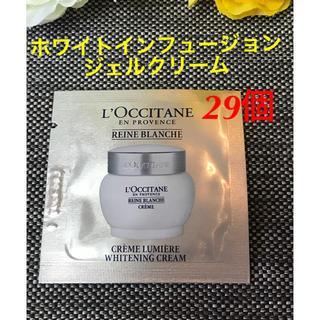 ロクシタン(L'OCCITANE)の新品❗️ロクシタン レーヌブランシュ ホワイトインフュージョン ジェルクリーム(フェイスクリーム)