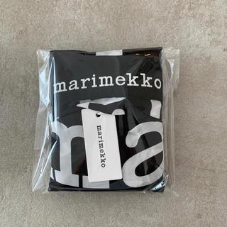 マリメッコ(marimekko)のマリメッコ marimekko マリロゴ  エコバッグ 新品未使用品ポーチ一体型(エコバッグ)