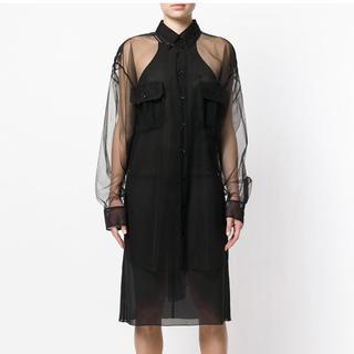 マルタンマルジェラ(Maison Martin Margiela)のマルジェラ シアーシャツ新品未使用(シャツ/ブラウス(長袖/七分))