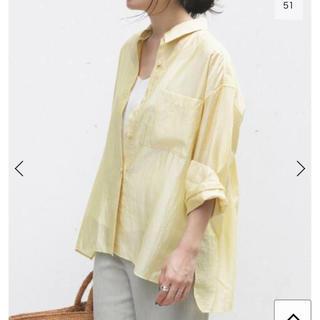 IENA - 新品タグ付き IENA シアーシャツ