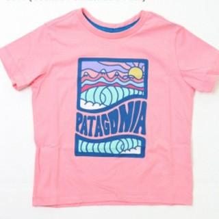 patagonia - パタゴニア オーガニックコットン Tシャツ ピンク 3T