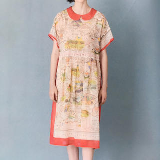 タグ付き新品 Les merveilles round collar dress