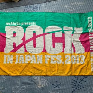 ROCK IN JAPAN FES 2013 タオル(音楽フェス)