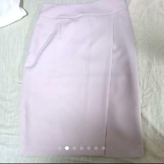 NATURAL BEAUTY BASIC - 【NATURAL BEAUTY BASIC】ピンクのスカート