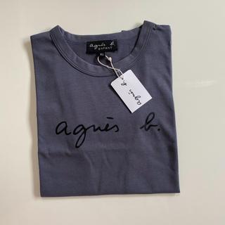 アニエスベー(agnes b.)の新品タグ☆アニエスベー ☆トップス XL(Tシャツ/カットソー)