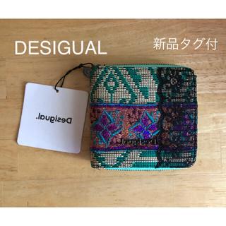 デシグアル(DESIGUAL)の新作♪新品タグ付☆DESIGUAL デシグアル 折り財布 ジャガード(財布)