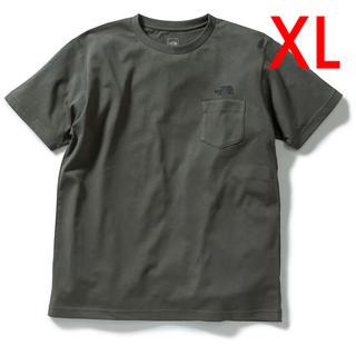 THE NORTH FACE - 新品 ノースフェイス シンプルロゴ ポケットTシャツ XL