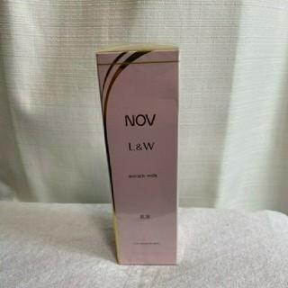ノブ(NOV)のNOV ノブL&W エンリッチミルク 乳液(乳液/ミルク)