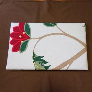 マリメッコ(marimekko)のミニアイロン台 赤花柄 ハンドメイド(雑貨)