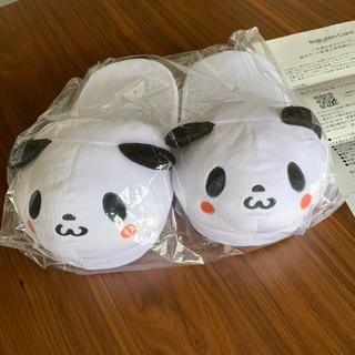 ラクテン(Rakuten)の楽天 お買い物パンダ 室内用 スリッパ(キャラクターグッズ)