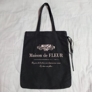 Maison de FLEUR - Maison de FLEUR ロゴプリントトートバッグ