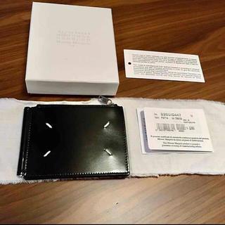 マルタンマルジェラ(Maison Martin Margiela)の新品正規品 Maison Margiela 20AW マネークリップ ウォレット(折り財布)