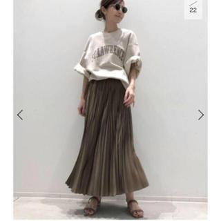 L'Appartement DEUXIEME CLASSE - 今季完売★L'Appartement ★ Pleats Skirt