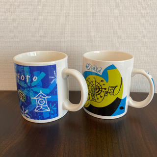 スターバックスコーヒー(Starbucks Coffee)のスターバックス マグ 札幌 大阪(マグカップ)