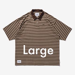 ダブルタップス(W)taps)のLサイズ VASQUE POLO SS 02 / SHIRT. COTTON (ポロシャツ)