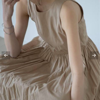 DEUXIEME CLASSE - 新品 マリハ  MARIHA マキシ ワンピース  トープ 36