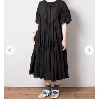 nest Robe - ネストローブ リネンブロッキングドレス 美品