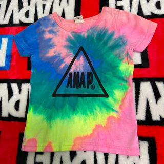 アナップキッズ(ANAP Kids)のANAPkids☆タイダイ柄Tシャツ(Tシャツ/カットソー)