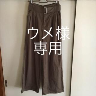 ジーユー(GU)のGU  ワイドパンツ M(バギーパンツ)