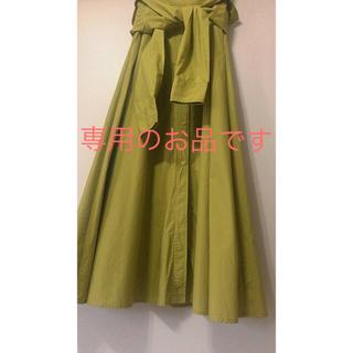 ミラオーウェン(Mila Owen)のMila Owen  ミラオーウェン シャツデザインフレアスカート(ロングスカート)