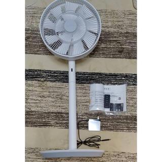バルミューダ(BALMUDA)の【保証書付き】BALMUDA 扇風機 ホワイグレー(扇風機)