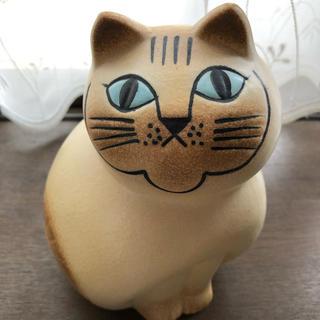 リサラーソン(Lisa Larson)のリサ・ラーソン Cat White Medium (ネコ)(置物)