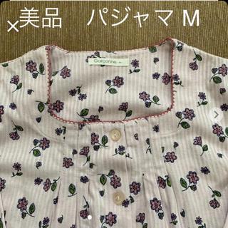 レディース  パジャマ M★ラベンダー花柄