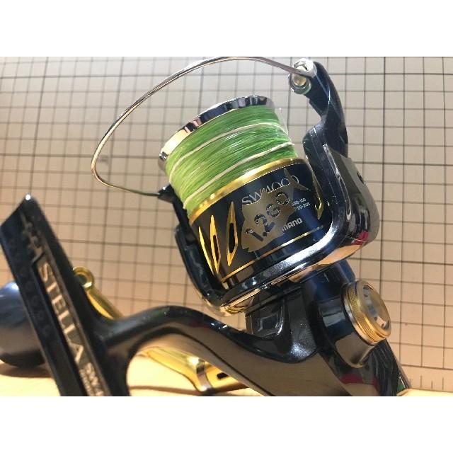 リール用号数ステッカー 10枚セット!釣り!魚種26種類!送料込! スポーツ/アウトドアのフィッシング(釣り糸/ライン)の商品写真
