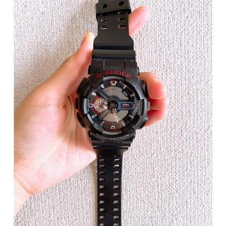 ジーショック(G-SHOCK)のGショック G-SHOCK GA110 ブラック(腕時計(デジタル))