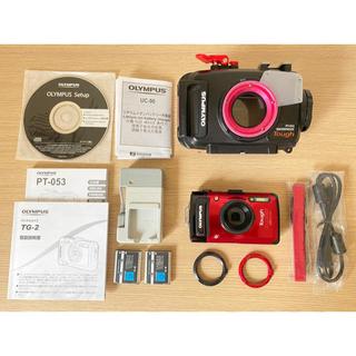 OLYMPUS - オリンパスカメラ TG-2 & 専用ハウジング PT-053