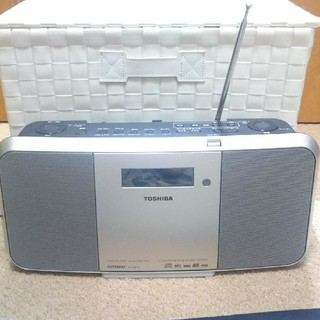東芝 - ラジオ・CDプレーヤー MP3録音 CUTE BEAT