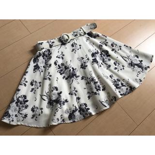 INGNI - INGNI花柄ミニスカート